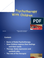 SPER Bodypsychotherapy With Children 2015