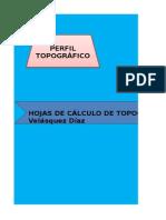 Cálculos de Topografía General i Topo 2