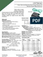 LVLP Series Datasheet( SLC, IDC, NAC Hatları için)