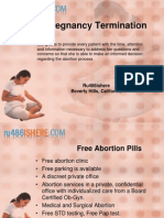Termination of Pregnancy With Ru486ishere