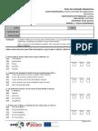Teste Diagnóstico Módulo F1