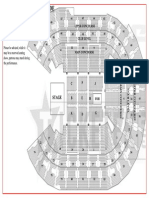 Allphones Arena Standard Concert Mode Seating Plan