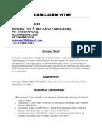 Curriculum Vitae Nabeel Final