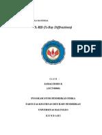 MAKALAHFISIKAMATERIALX-RayDiffractions.docx