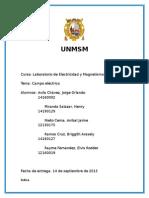 Informe de fisica - Campo electrico.docx