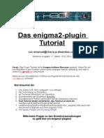 Dreambox Enigma2 Plugin-tutorial