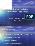 Numerical methods for atmospheric dynamics