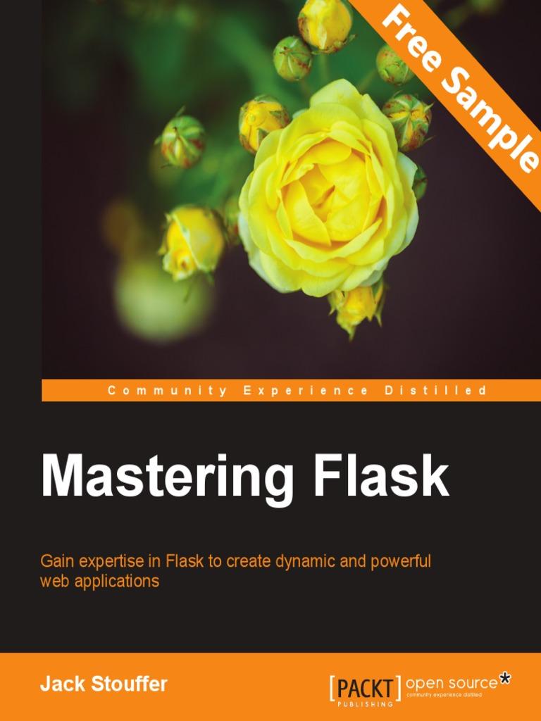 Mastering Flask - Sample Chapter | No Sql | Databases