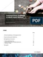 Digital-Cross-Device CampaignCheck Targobank