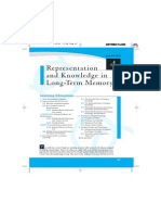 Chapter 4 Representation, Knowledge in Long-term Memory