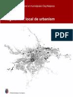 Regulament Local de Urbanism Cluj-Napoca 2015