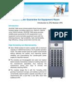 Introduction to ZTE Modular UPS V1.4_20100820_EN