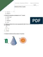 Examen 2º ESO - A - Volumenes