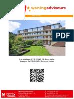 Brochure - Europalaan 176 te Enschede