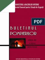 Buletin Pompieri 1-2014