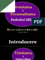 Seminar Duhul Sfant