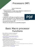 Macro Processors Chap4