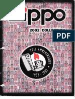 2002 Zippo Lighter Catalog
