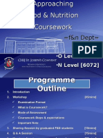 FN Coursework Workshop