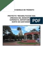 Plan de Manejo Vial Sardinata