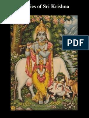 Glories_ofSri_Krishna pdf | Krishna | Hindu Deities