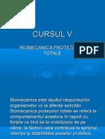 Biomecanica Protezelor Totale