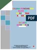 Cover Blok v Student's Guide