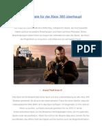Beste Spiele Fur Die Xbox 360 Überhaupt