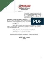 Plano Diretor de João Pessoa 2009