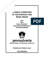 GeneralConditionsoftheContractandWorkOrderforTier18 FA 5.0