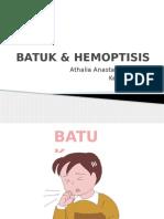 Batuk Hemoptysis