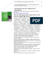 The Top 100 Questions of Importance to the Future of Global Agriculture_IJAS