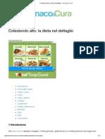 Colesterolo Alto_ La Dieta Nel Dettaglio - Farmaco e Cura