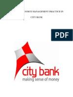 Performance Appraisal on the City Bank Ltd.
