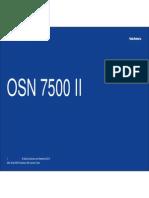 OSN 7500 II