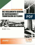 R-021 Requerimientos de Aplicacion