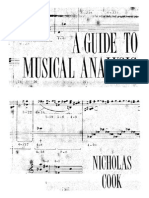 Cook - A Guide to Musical Analysis