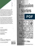 Discussion Starters Adv