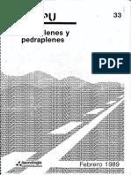 MOPU - Terraplenes y Pedraplenes