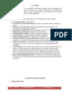 EL ACERO- CARACTERÍSTICAS MECÁNICAS Y TECNOLÓGICAS DEL ACERO
