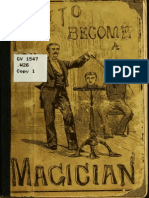 How to Become a Magician (1882)