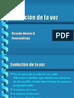 Evolucion de La Voz