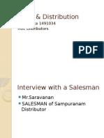 distributor of HUL...interview