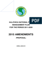 Amendments to Park Management Plan 2015 ENG