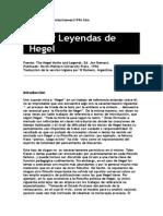 Stewart. Mitos y Leyendas Sobre Hegel