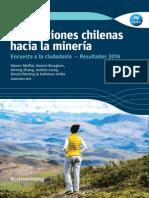 Percepciones chilenas hacia la minería