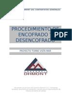 ENCOFRADO Y DESENCOFRADO