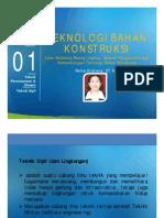 PPT Teknologi Bahan Konstruksi [TM1]