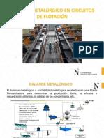 Balance MetalúrFDgico en Flotacion