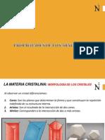 Caracterización FDGDde Los Minerales